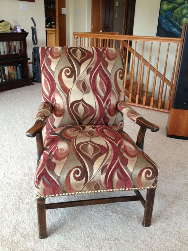 Reupholster A Chair From The Bones Up Furniture Repair