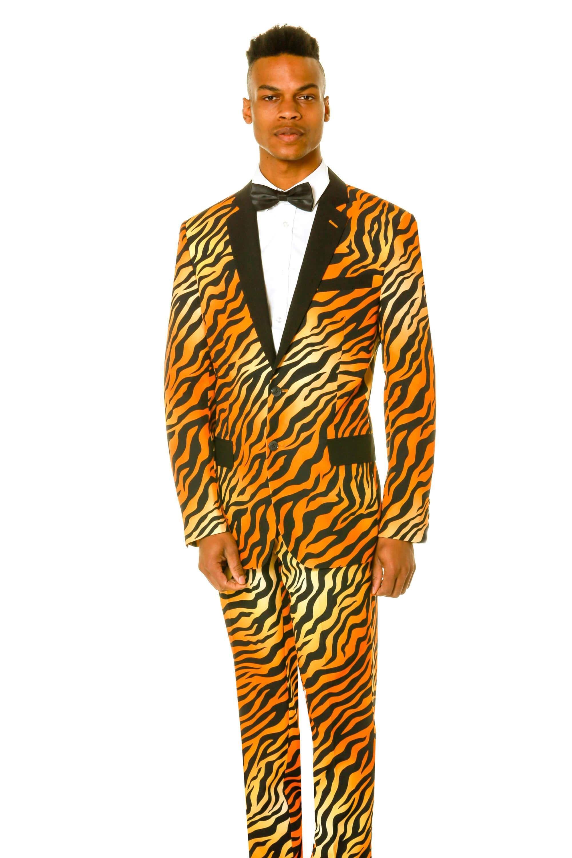 5cad66635ba Tiger Print Suit