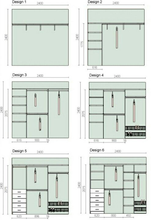 Closet Layout Design