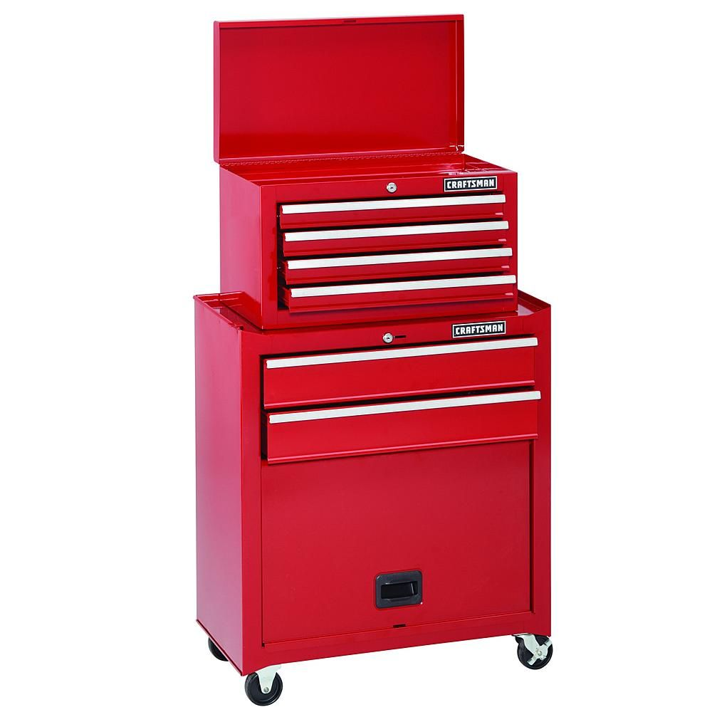 6 Drawer Homeowner Tool Center Tool Storage For The Home At Sears 120 Craftsman Tools Chest Craftsman Tools Tool Storage