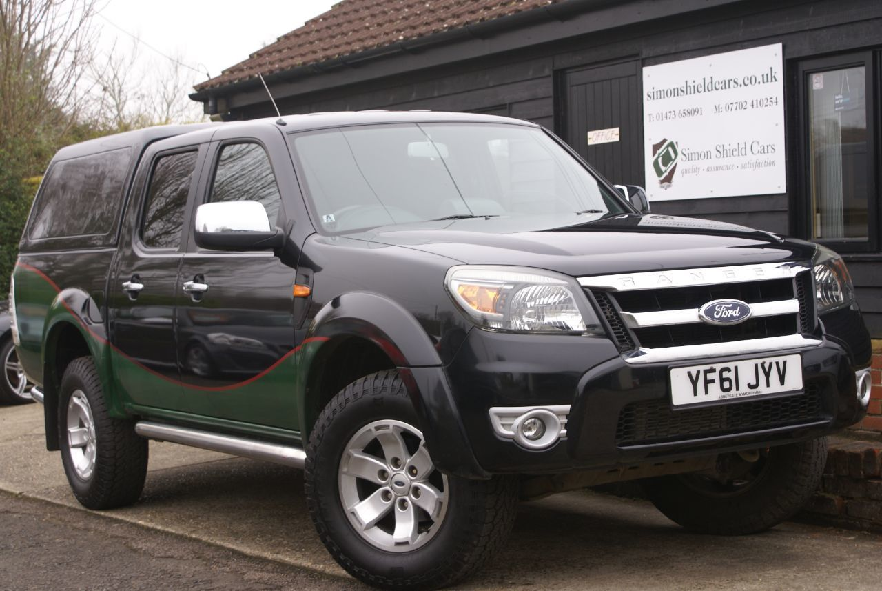 2011 Ford Ranger Pick Up Double Cab Thunder 2.5 TDCi 4WD