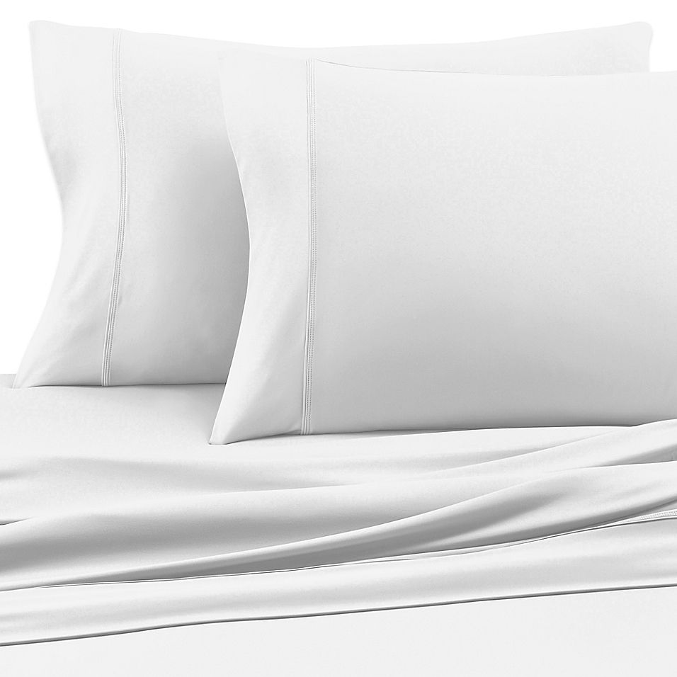 Sheex Experience Performance Fabric Standard Pillowcases In White