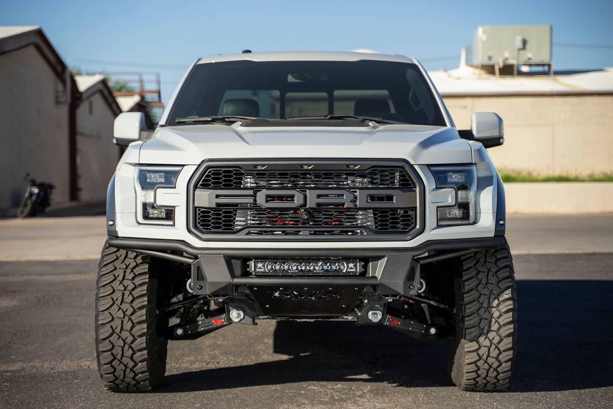 2017 2020 Ford Raptor Add Pro Bolt On Front Bumper Ford Raptor Raptor Ford