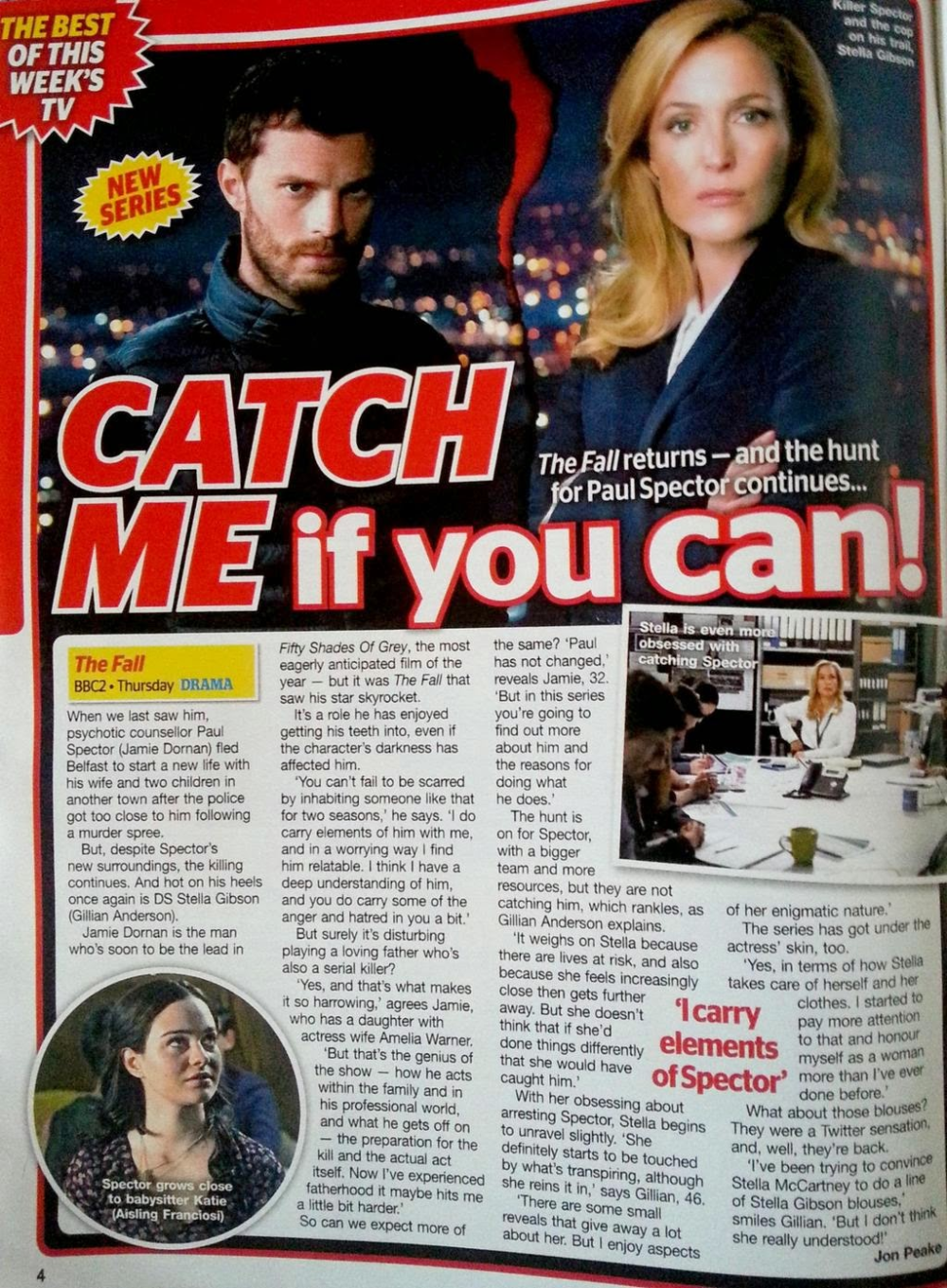 tv magazine interview Google Search in 2020 Jamie