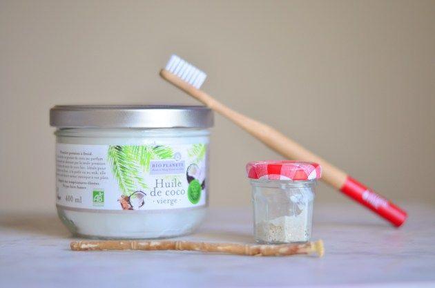 mes alternatives naturelles pour se laver les dents z ro d chet pinterest coco huile et. Black Bedroom Furniture Sets. Home Design Ideas