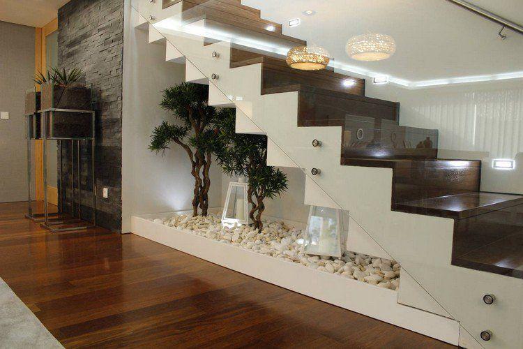 Mini Zen Garten Deko Unter Treppe Interiors Design Ourhome