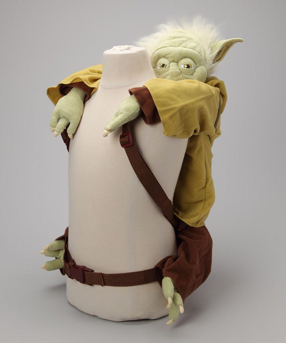 e6486352a21 Yoda Backpack Buddy
