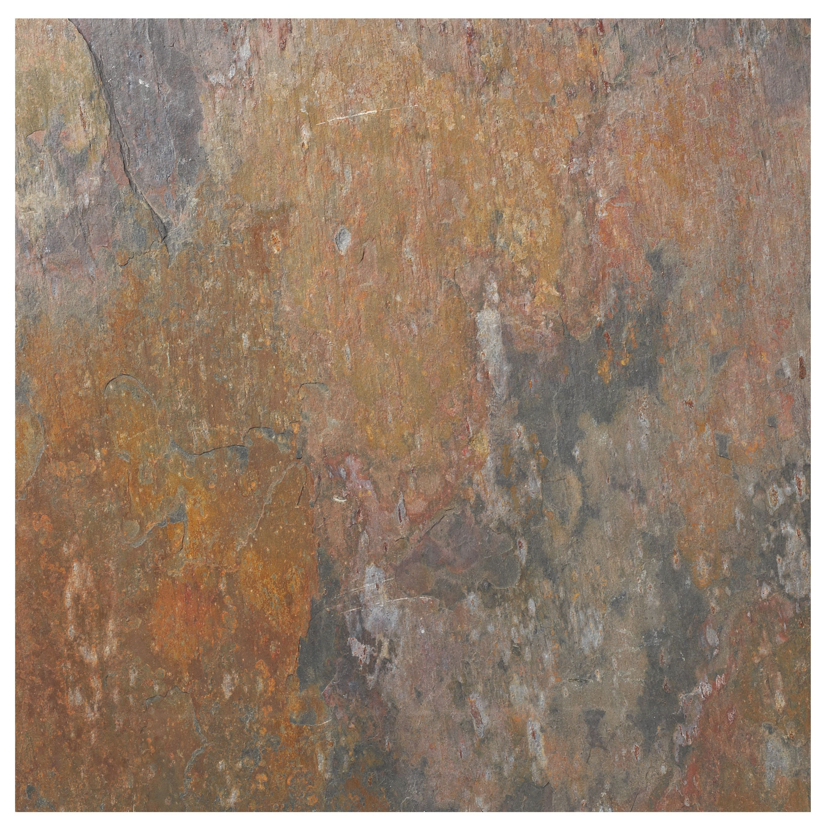 Natural Travertine Mosaic Tile L 300mm W 300mm: For Hallway.....Colours Brown & Grey Slate Wall & Floor