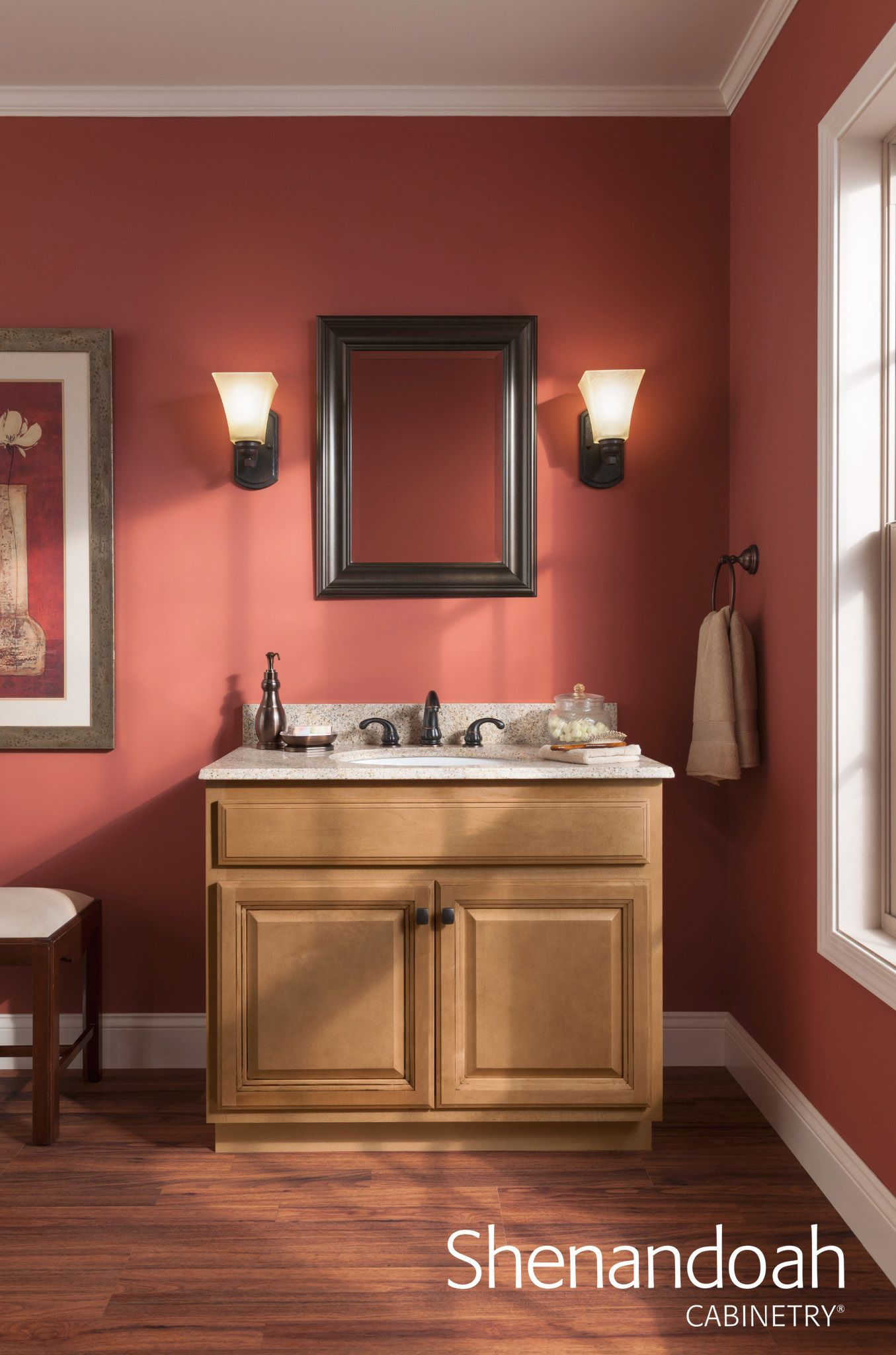 Pin By Shenandoah Cabinetry On Beautify Your Bathroom Bathroom