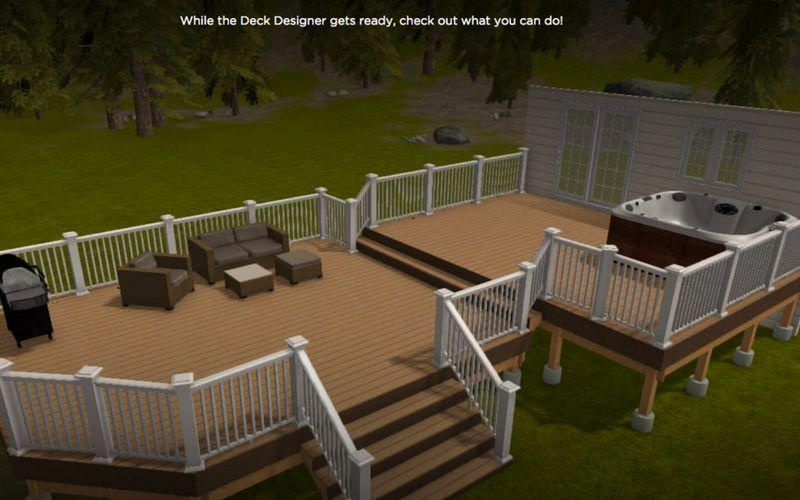 Building A Deck Why Not Design It In Software First We Showcase
