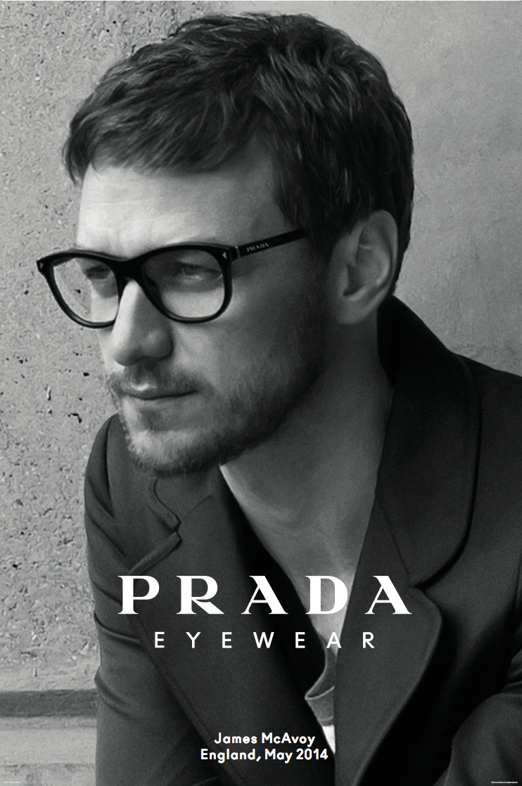 Do you like actor James McAvoy in these Prada frames? Get this pair ...