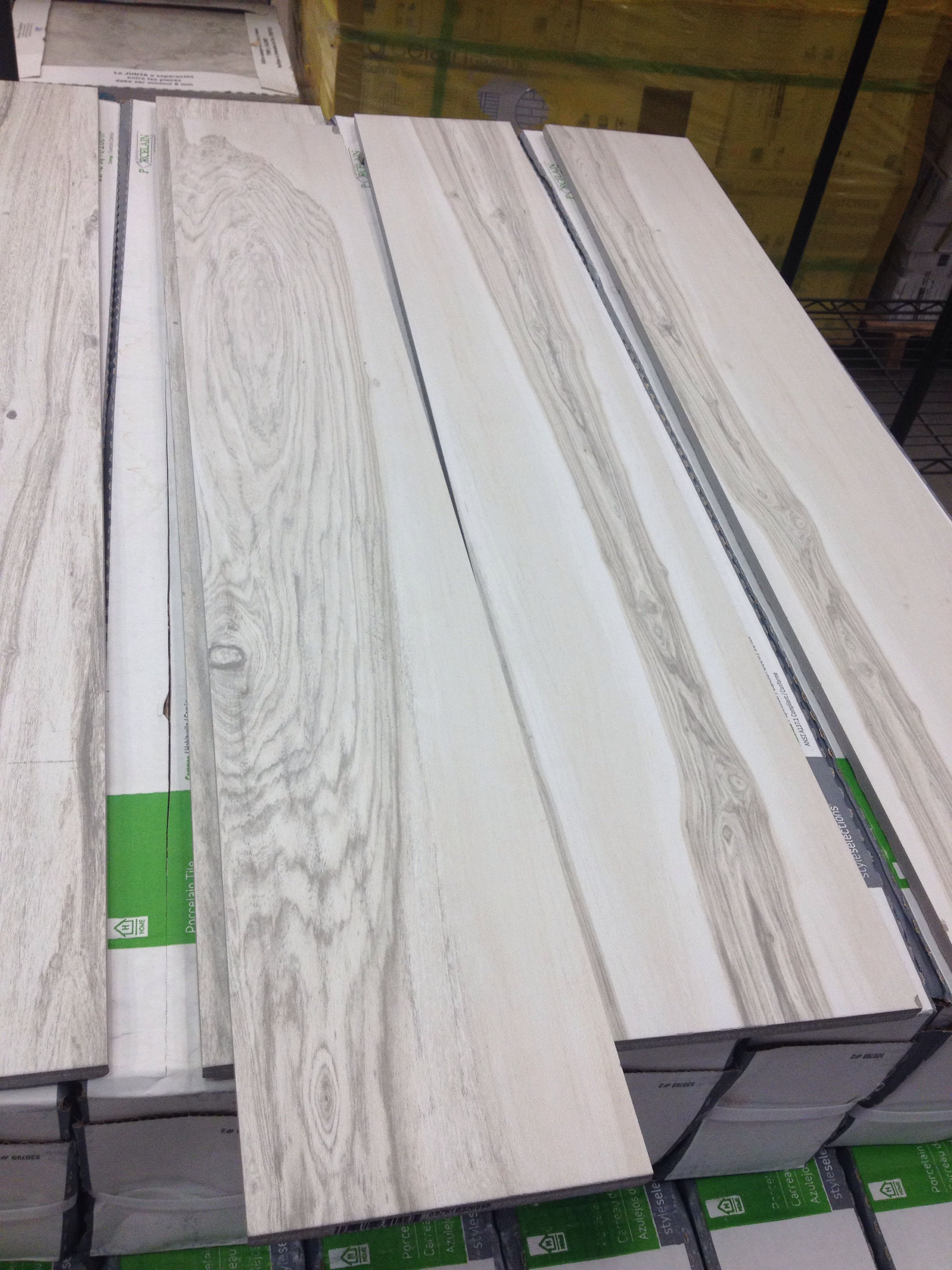 Lowes White wash ceramic tiles Tiles Pinterest