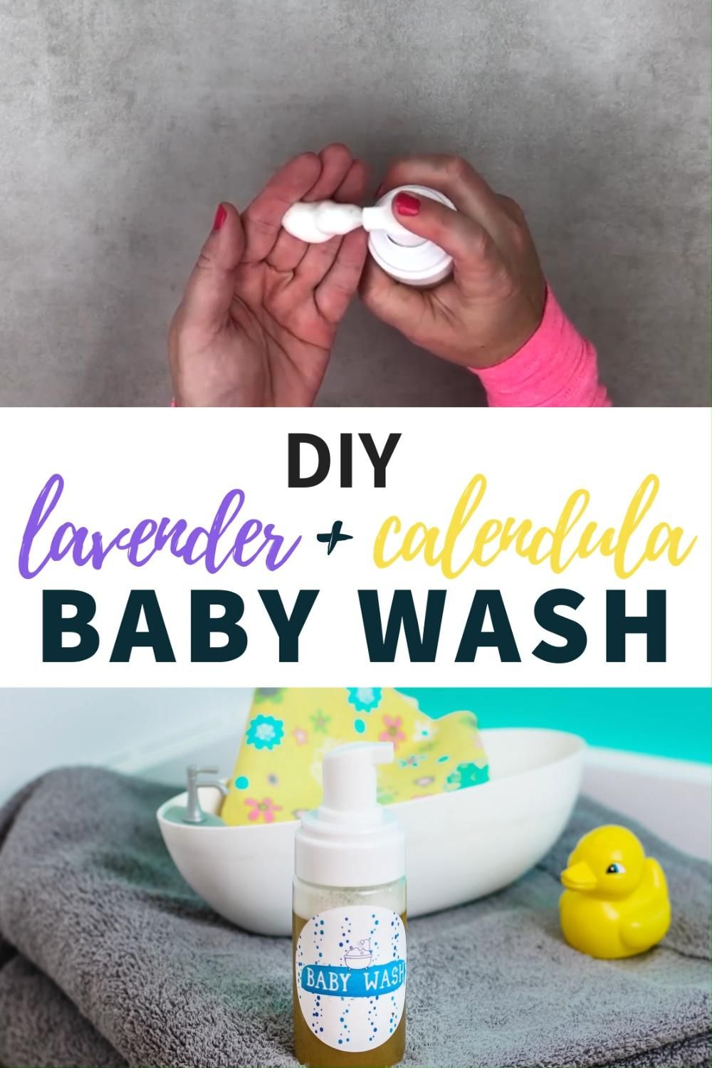 Calendula and Lavender DIY Baby Wash Recipe -   19 diy Baby products ideas
