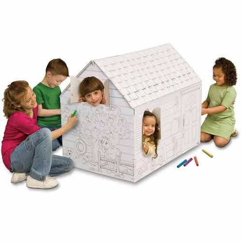color your own barn playhouse, $34   All about Sheriff Callie ...