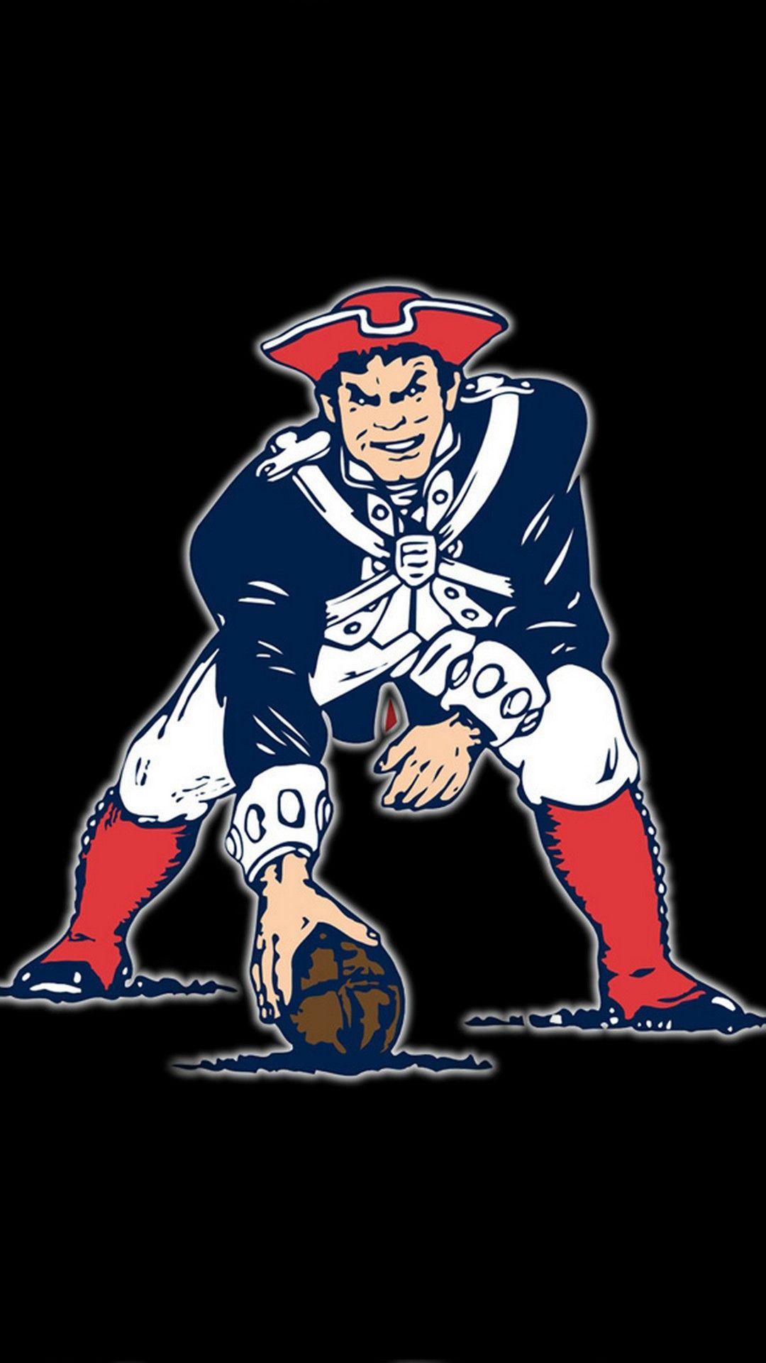 New England Patriots iPhone Wallpaper Design 2020 New