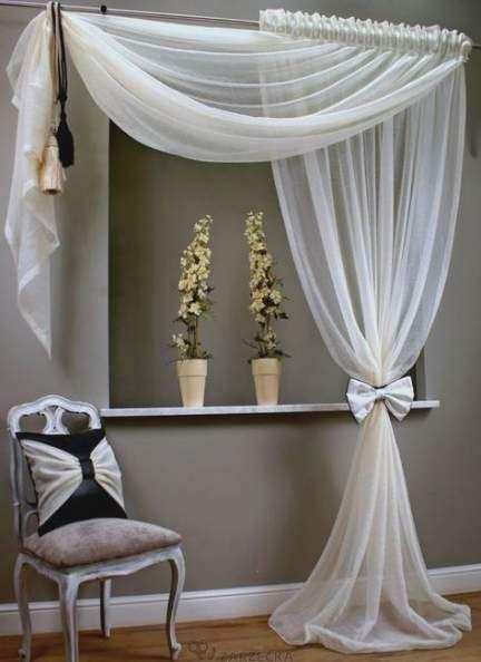 Trendy diy decorao ideas for bedroom window treatments ...
