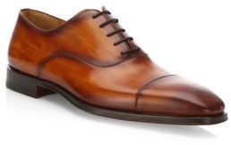 Saks Fifth AvenueCOLLECTION BY MAGNANNI Cap Toe Calf Leather Oxfords YMEcaMw