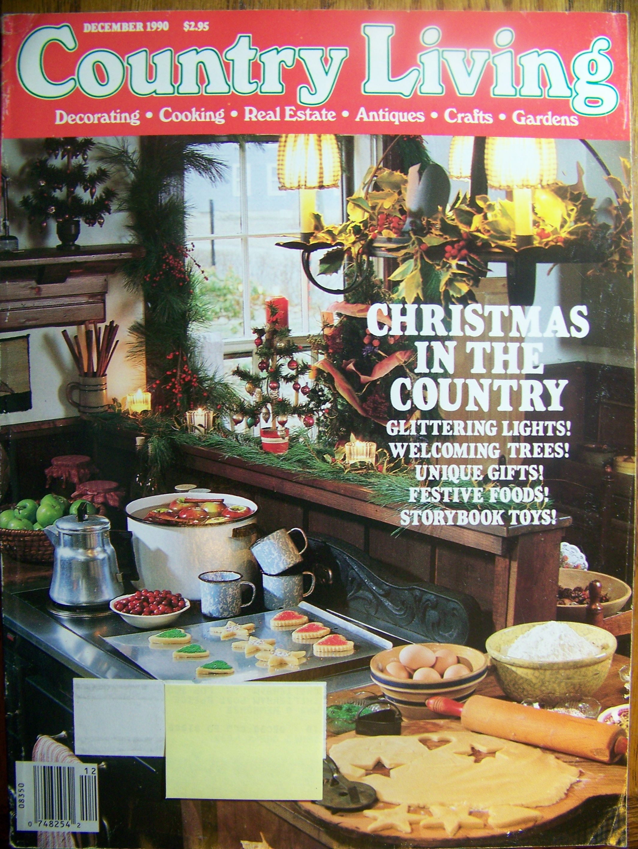 Country Living USA December 1990. (With images