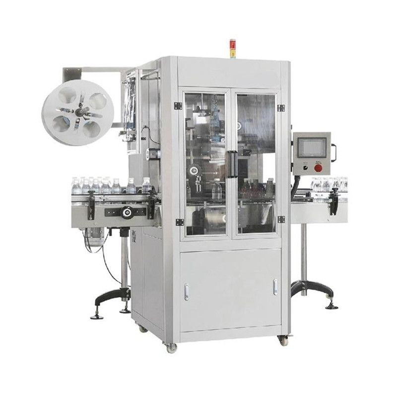 Automatic Sleeve Labeling Machine Labeler For Coke Mineral