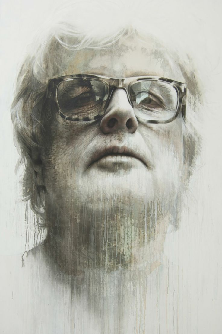 This looks like Philip Seymour Hoffman and Emperor Palpatine had a baby. I LOVE the textures in this piece.  Annemarie Busschers
