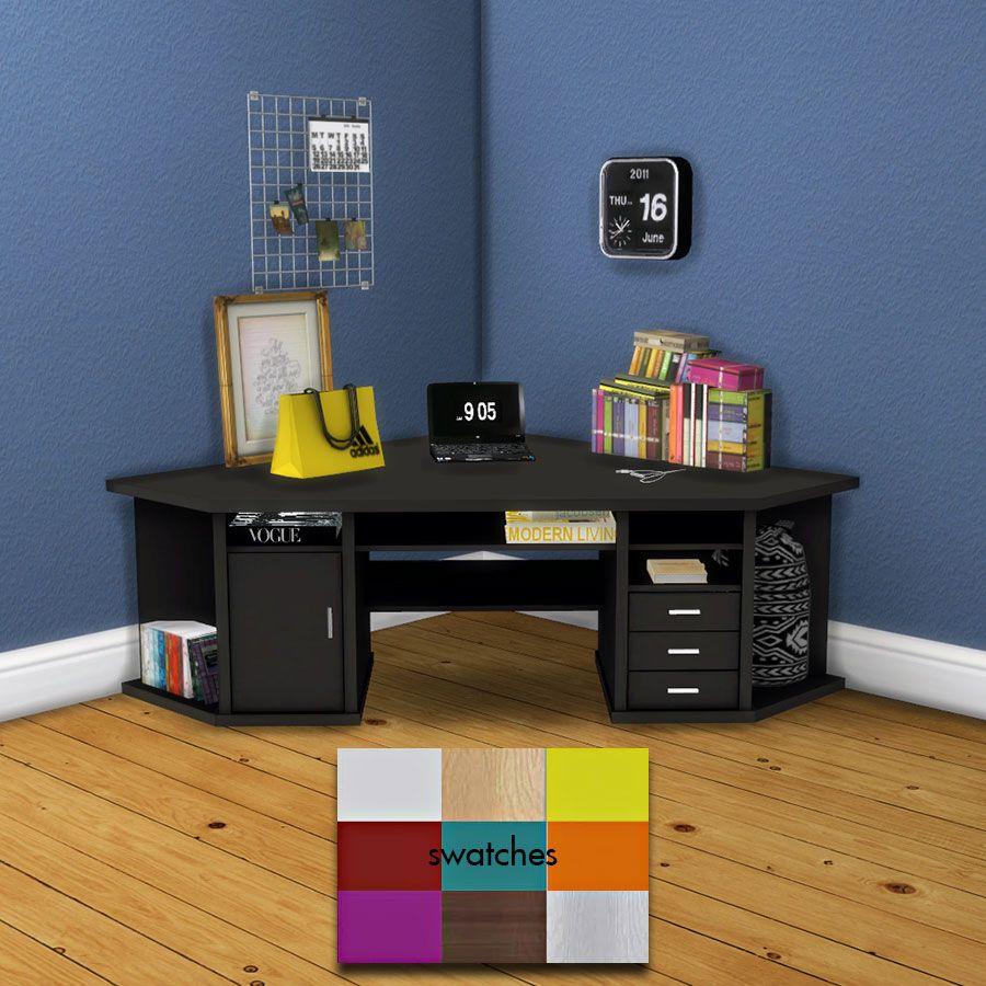 The sims 4 leosims corner desk