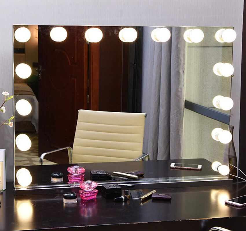 Wwwdanycasecom Big Vanity Mirror With Light Hollywood Makeup