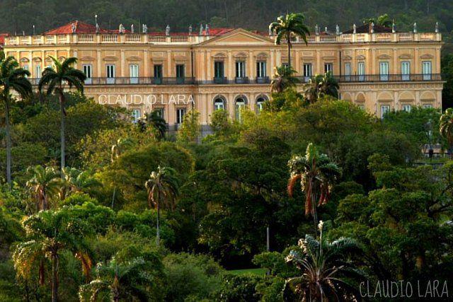 Museu Nacional Quinta Da Boa Vista Rio De Janeiro