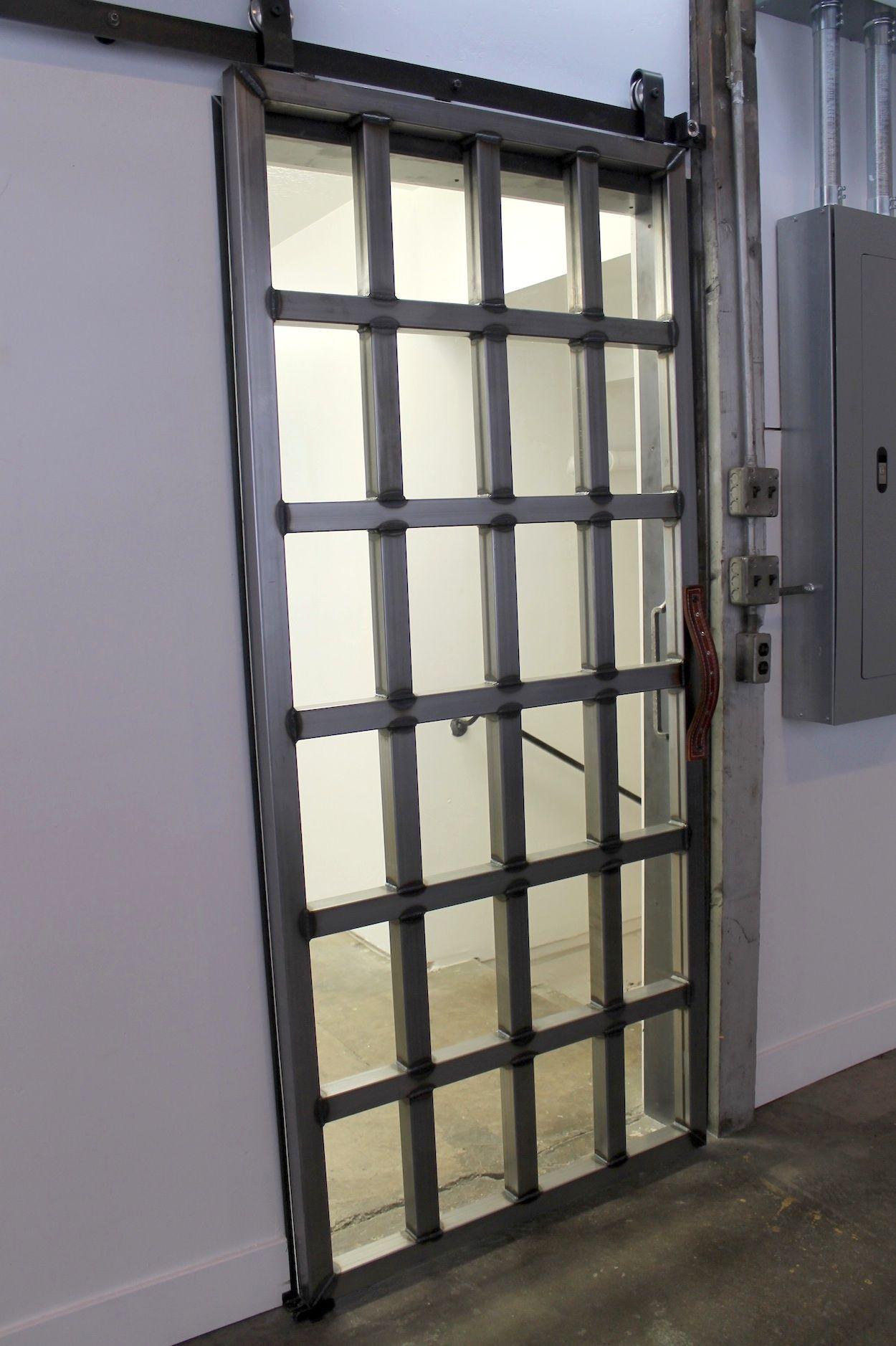 Custom Steel Tube Door With Glass Design Doors Pinterest