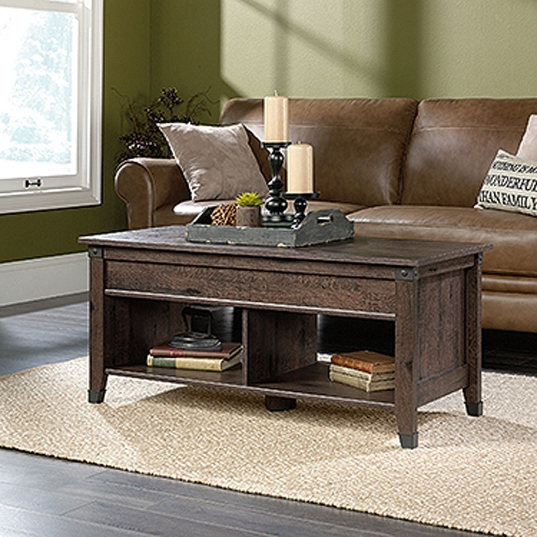 Carson Forge Lift Top Coffee Tablewashington Cherr 420421 Sauder Woodworking Afw Coffee Table Lift Top Coffee Table Coffee Table Furniture [ 1500 x 1500 Pixel ]