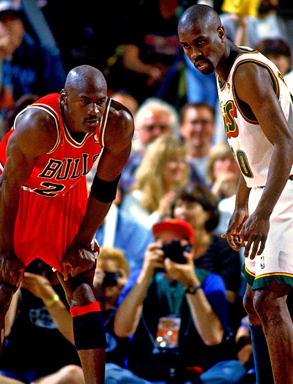 Michael Jordan   Gary Payton  84209bbf1