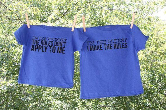 Oldest Middle and Youngest Child humorous shirts. 1. Im The Oldest I Make The R  - Funny Sibling Shirts - Ideas of Funny Sibling Shirts #funnyshirts #siblingshirts -   Oldest Middle and Youngest Child humorous shirts. 1. Im The Oldest I Make The R  Funny Sibling Shirts  Ideas of Funny Sibling Shirts #funnyshirts #siblingshirts  Oldest Middle and Youngest Child humorous shirts. 1. Im The Oldest I Make The Rules 2. Im The Youngest The Rules Dont Apply To Me #middlechildhumor