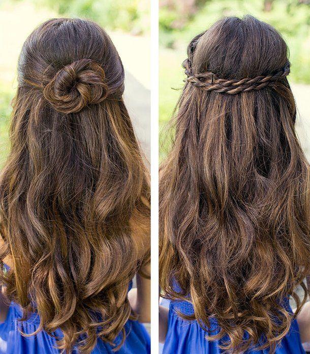 Abschluss Frisuren Für Lange Haare Haare Pinterest Frisur Für