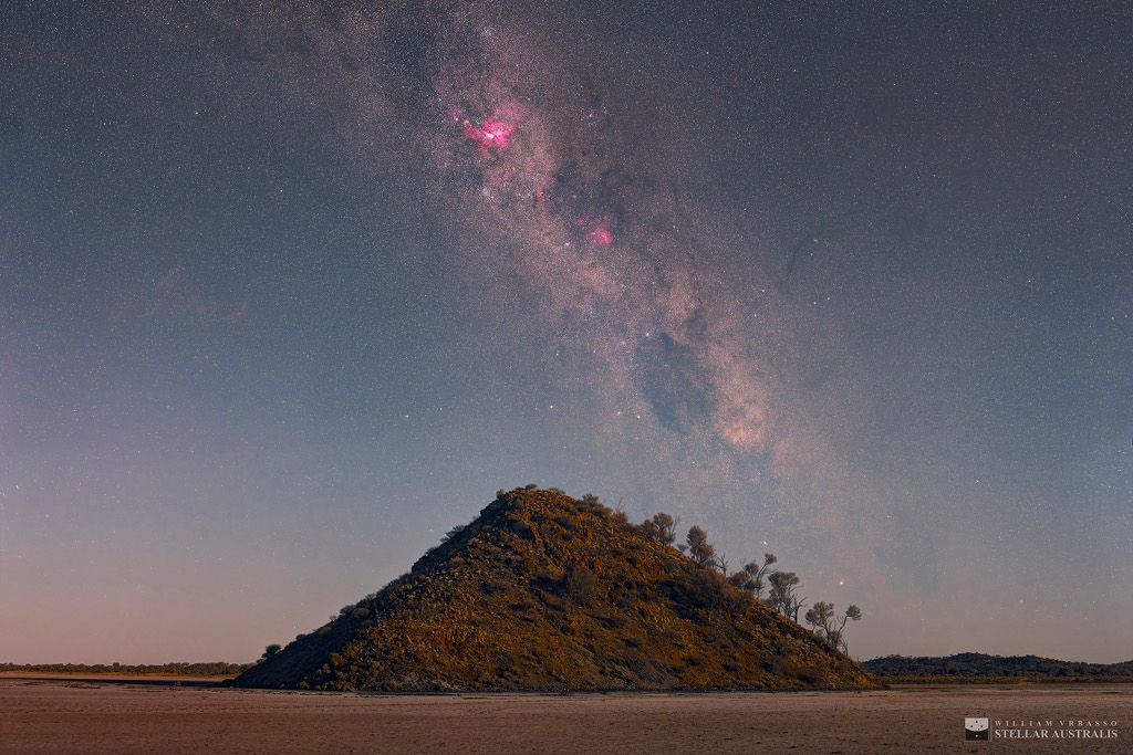 Carina Over Lake Ballard Love Astronomy Picture Of The Day Follow CutePhoneCases