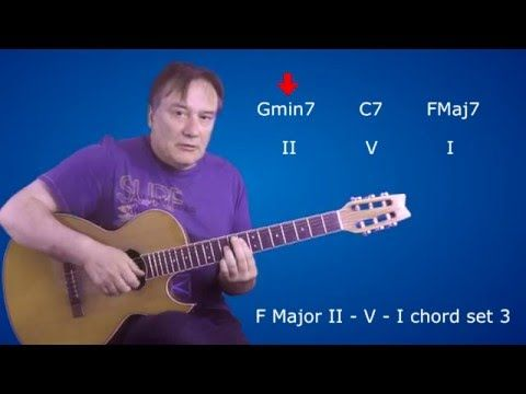 Drop Two Voicings Uncovered Lesson 3 - II V I Progression & Voice Leading