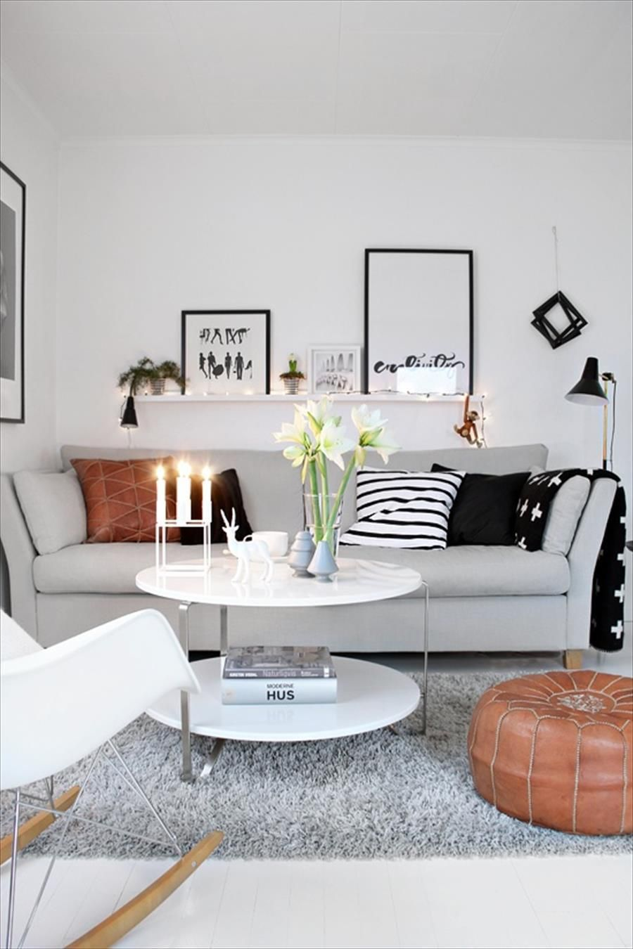 50 Living Room Designs for Small Spaces | Pinterest | Helle farben ...