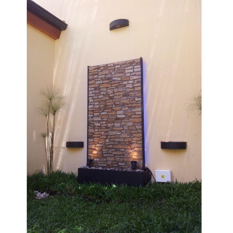 Cascada muro de agua fuente de agua pared de agua for Fuentes y cascadas para jardin