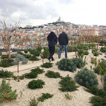 création jardin promenade fort saint-jean Marseille