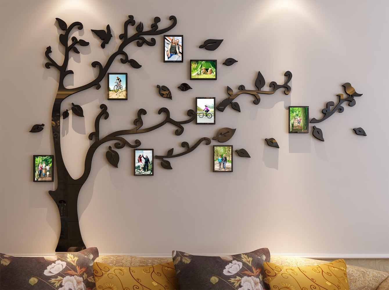 3d Picture Frames Tree Wall Murals For Living Room Bedroom Sofa Backdrop Tv Wall Background Originality Stickers Wall 3d Bilderrahmen Baum Wand Gerahmte Wand