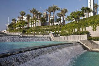 dream gardens: Burj Khalifa Park