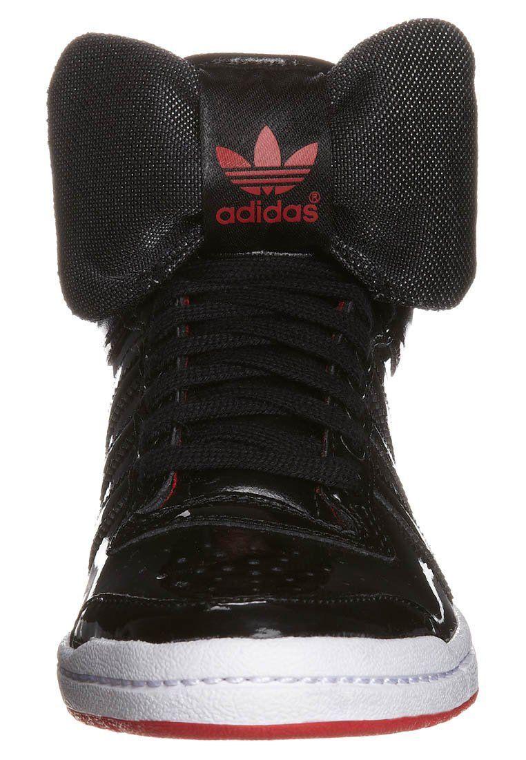 super popular 5fe09 d84af adidas Originals TOP TEN HI SLEEK - Zapatillas altas - negro - Zalando.es