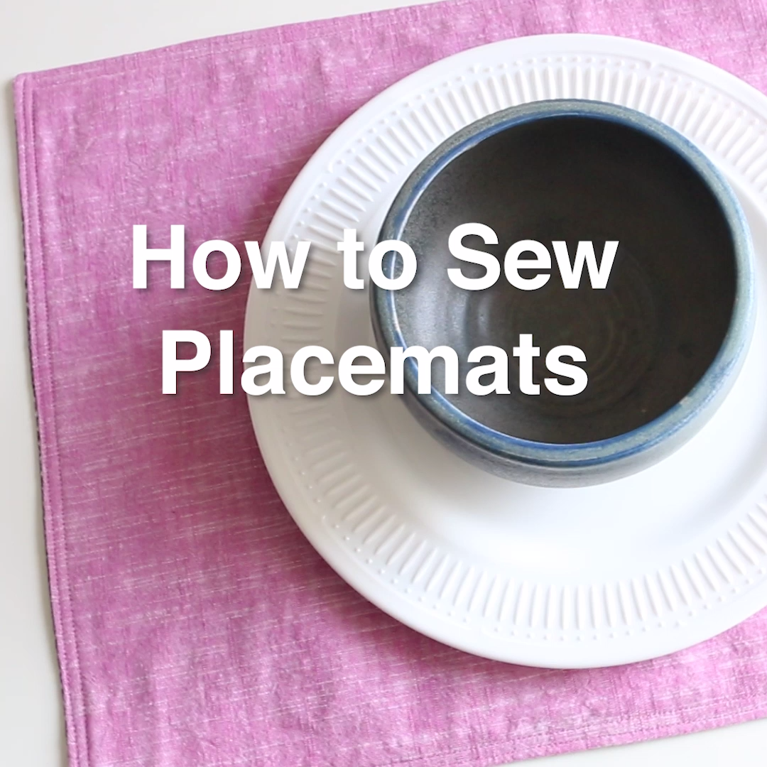 Photo of How to Sew Placemats