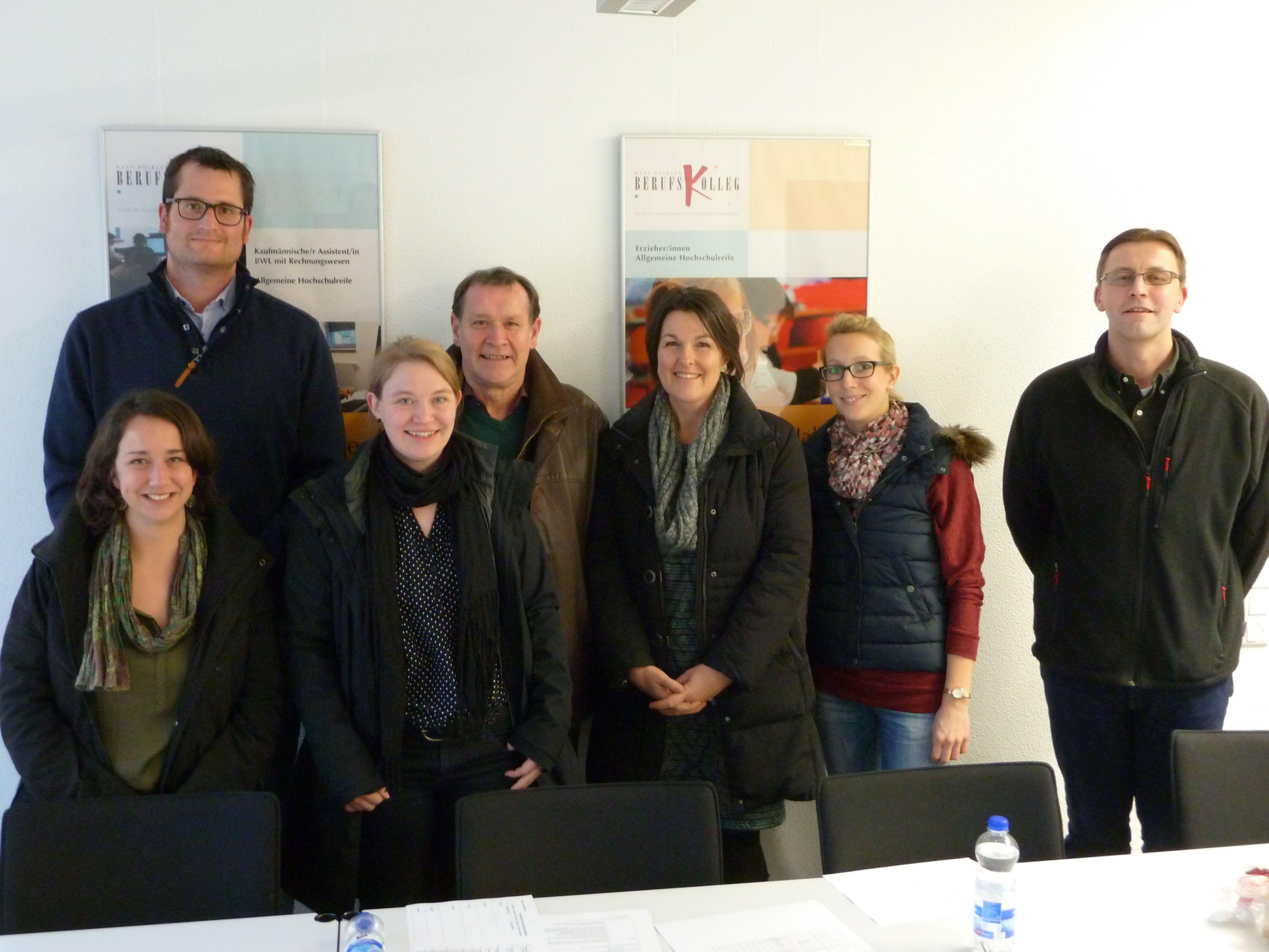 KKS - Besuch des Hans-Böckler-Berufskollegs in Marl, 2015