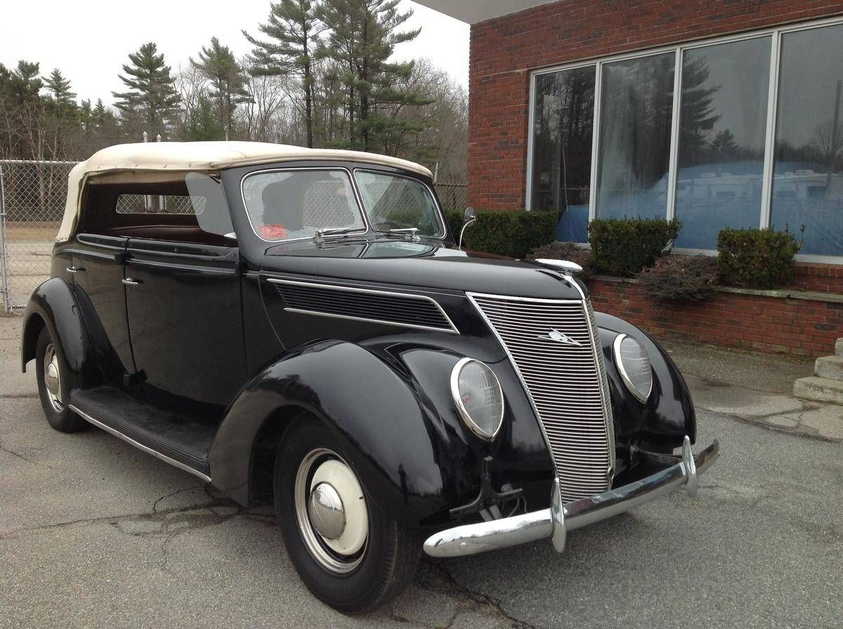 1937 ford phaeton convertible for sale