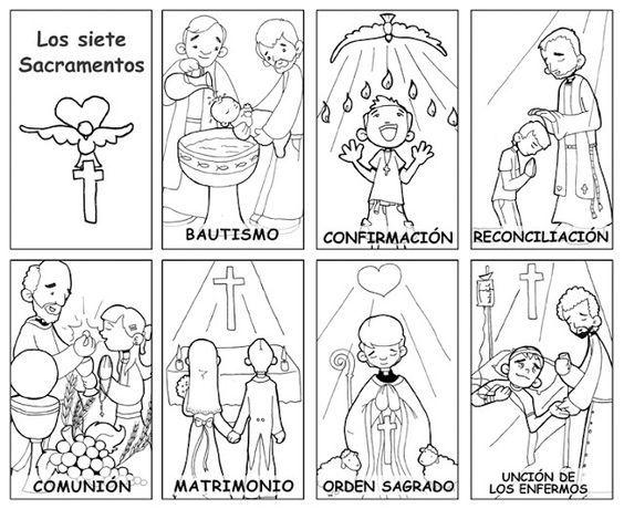 Los 7 sacramentos | Blog de los Recursos de JESUS MARIA: | Ideas ...