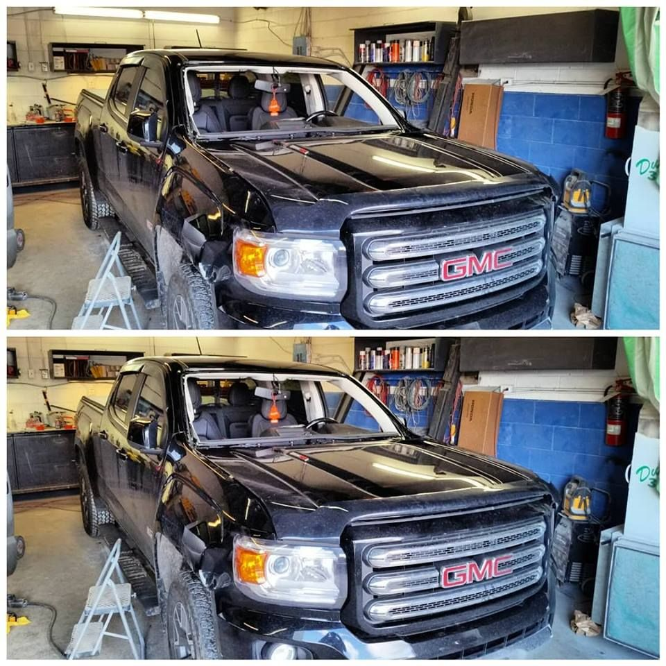 2017 Gmc Canyon Windshield Replacement Windscreenrepair Gmcwindshieldreplacement Crackedwin Windshield Repair Auto Glass Repair Windshield
