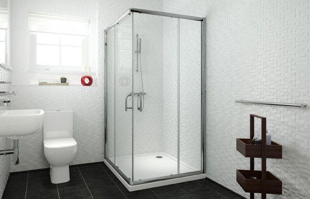 5 Series Framed Corner Entry Shower Enclosure 900mm V10111091bo Scene Quadrant Shower Enclosures Shower Enclosure Corner Shower Enclosures