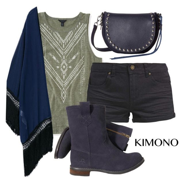 """""""kimono set"""" by ella011115 ❤ liked on Polyvore featuring Aéropostale, TWINTIP, Chatham, Rebecca Minkoff and kimonos"""