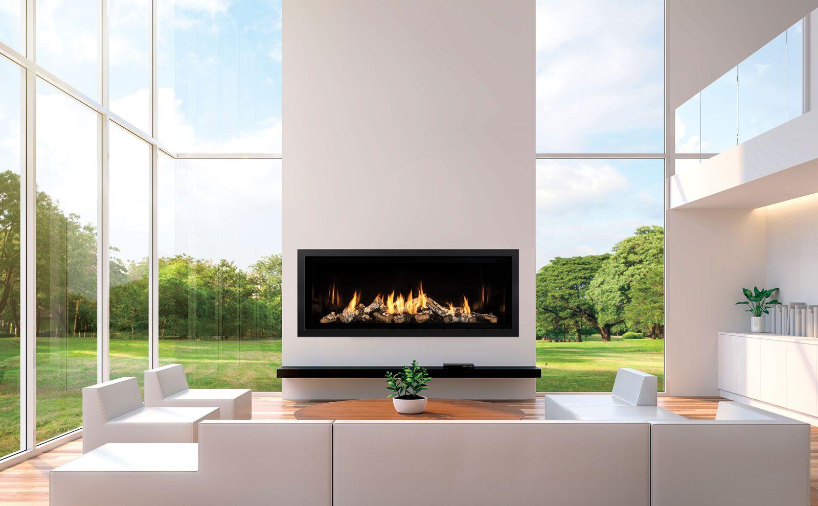 Mendota Hearth Ml54 Linear Gas Fireplace In 2020 Linear Fireplace Gas Fireplace Fireplace