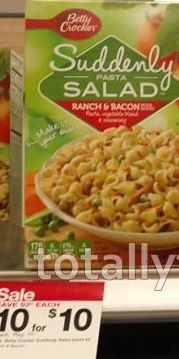 Target: $0.20 Suddenly Pasta Salad (Value $1.92) With NEW $1/2 Printable Coupon! - http://wp.me/p56Eop-LqI