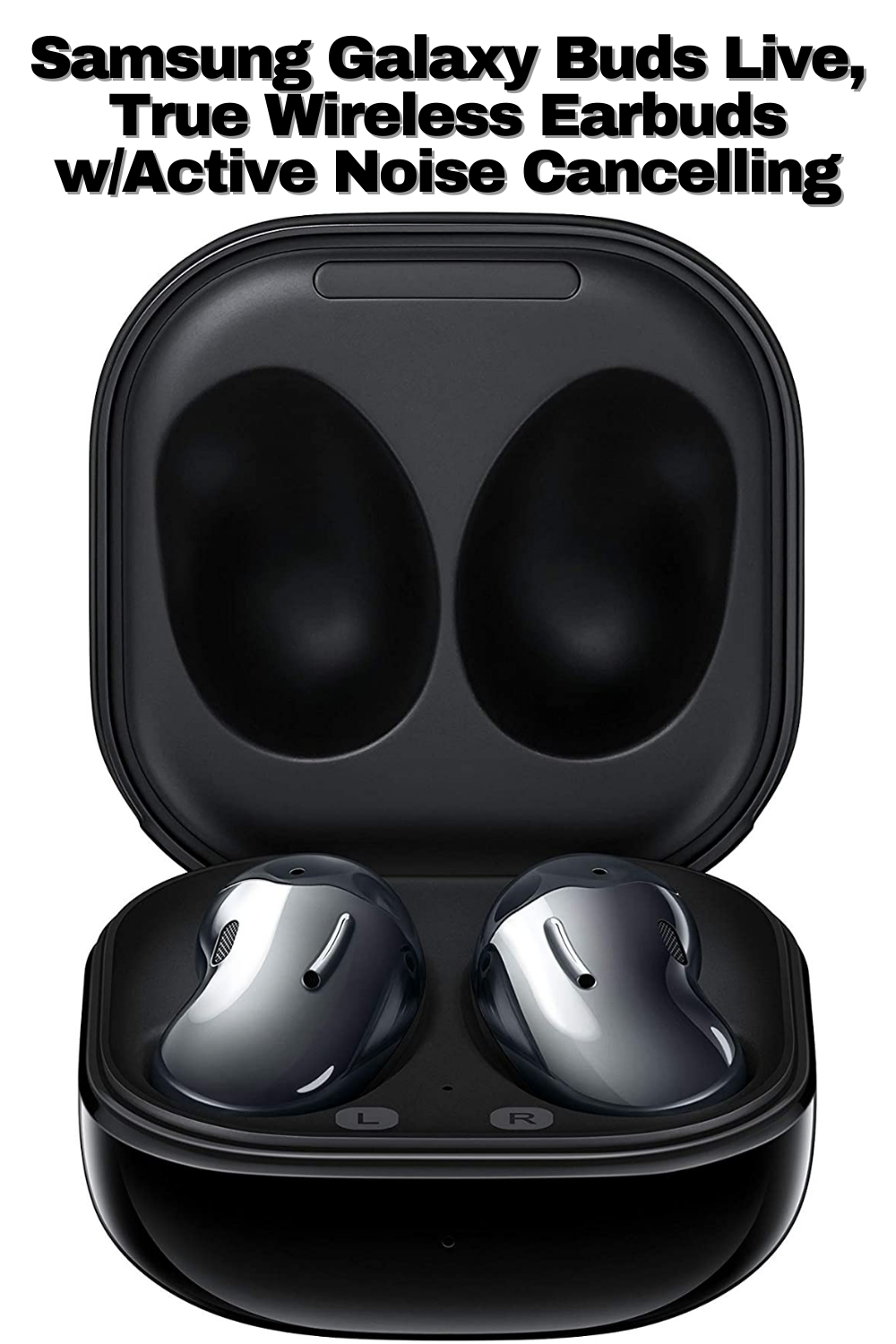 Samsung Galaxy Buds Live True Wireless Earbuds W Active Noise Cancelling In 2021 Wireless Earbuds Active Noise Cancellation Earbuds